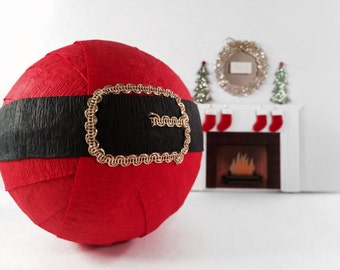 Santa Belt Surprise Ball