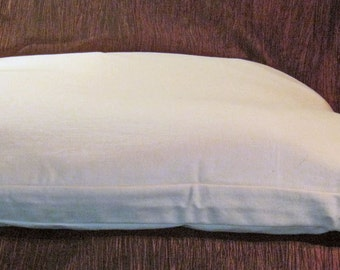 Organic Cotton Gusseted Pillow Case