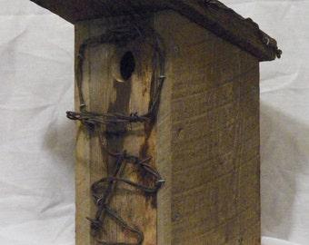 Barnwood Birdhouse #11