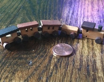 Dollhouse  Wooden Toy Train