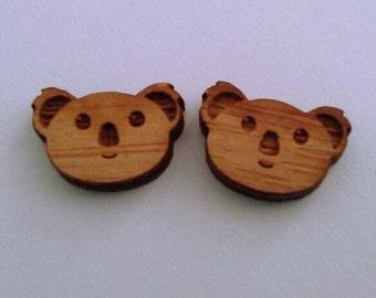 earrings bamboo koalas