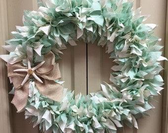 Star Fish  Beachy Wreath