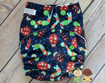 Little Critters Diaper - All-in-two Cloth Diaper - Cloth Diaper - Reusable Diaper - Washable Diaper - AI2 Cloth Diaper - All-in-two