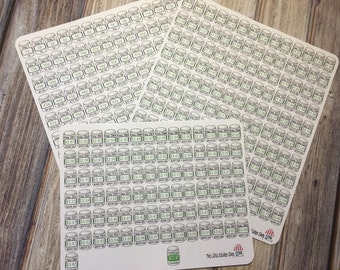 365 day penny challenge stickers. Perfect for any Life Planner!!!