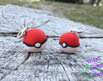 Pokeball Charms