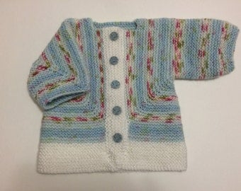 Blue Baby Surprise Sweater - Size 6-12 months