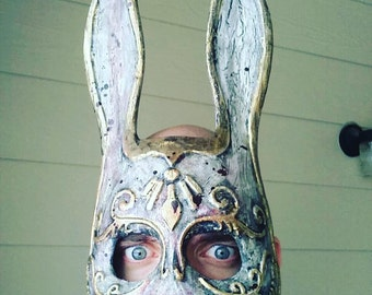 Splicer Mask, Bioshock Mask, Bioshock 2, Bioshock Infinite, Cosplay Mask, 3D printed, hand painted