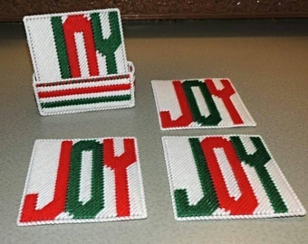 Christmas JOY Coasters