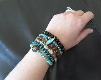Stacked Boho Bracelet