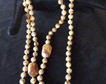 Picture Jasper and Agate Necklace