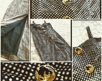 Vintage Velveteen Dress