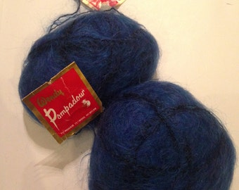Vintage Wendy Pompadour Mohair Wool, BNWT, new, unused and still has tags on
