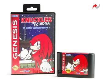 Knuckles in Sonic The Hedgehog Reproduction (Sega Genesis, 1994) Repro