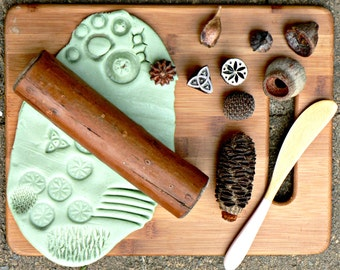 Natural Playdough tool kit