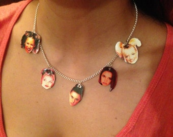 Spice Girls Charm Necklace
