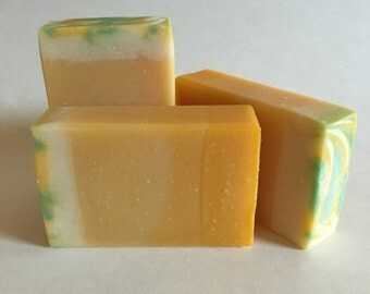 Pineapple Mango Scented Cold Process Soap