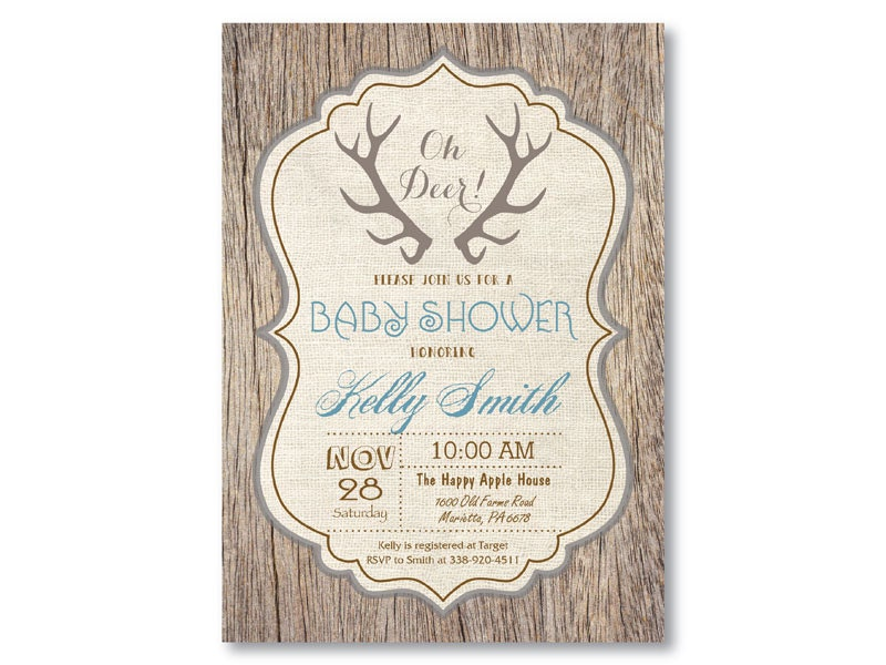 oh deer baby shower | etsy,
