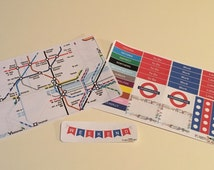 London Underground Theme - Weekly Kit - Perfect for Erin Condren life planner