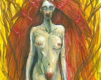 She-Demon (15 x 10 inch Art Print)