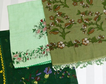 Various Green Table Cloths