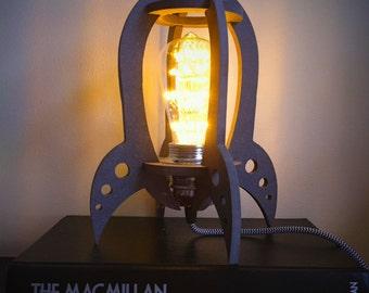 Rocket rocket lamp