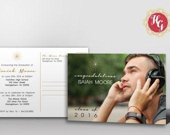Graduation Announcement/Invitation Postcard