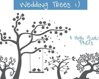 wedding trees clipart, wedding trees, trees clip art, tree clipart, tress clip art, trees clip art, trees clipart, wedding invitation, trees
