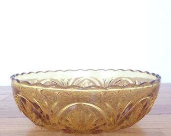 Amber Starburt Fruit  Bowl