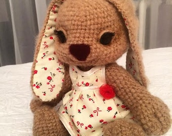 Amigurumi crohet bunny rabbit toy