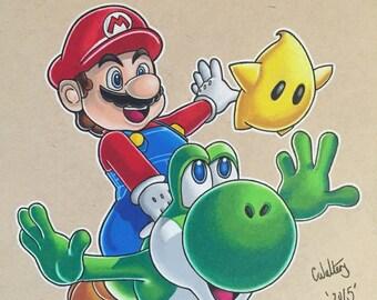 Mario Galaxy original copy