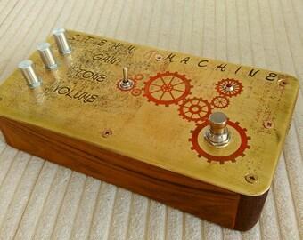 Steam Machine - hand made, boutique germanium distortion / overdrive guitar pedal