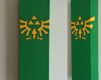 Legend of Zelda Canvas Painting