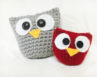 Crochet Owl Set