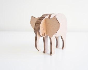 Safari Collection    Elephant    Cardboard Animal
