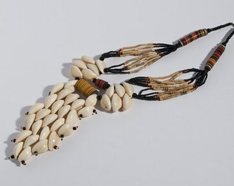 Totem cowrie necklace