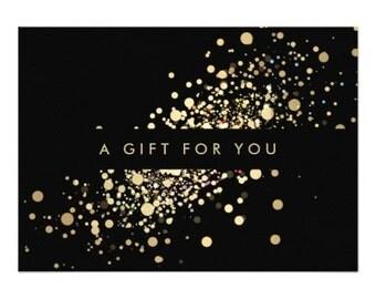 Shop Gift Certificate