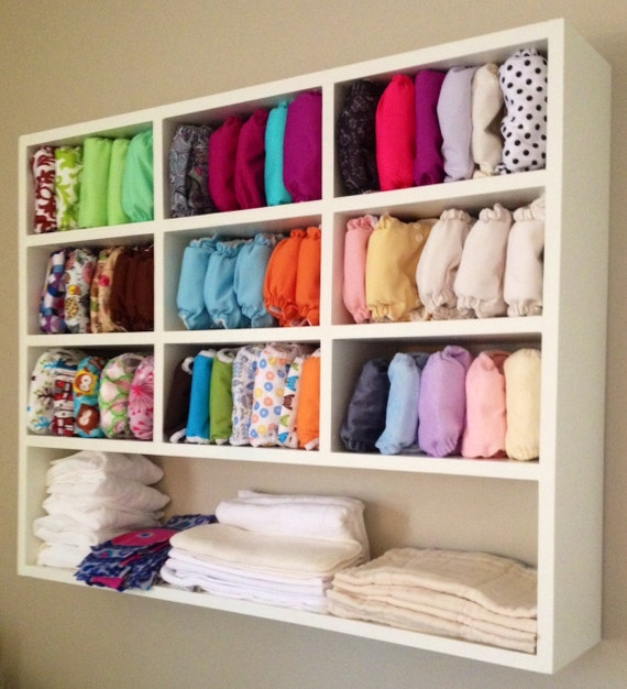 Items similar to Cloth Diaper Storage Unit on Etsy
