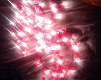 Red Flower Lights