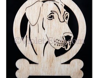 Great Dane Uncropped Ornament-Great Dane Uncropped Gift-Free Personalization