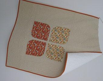 Ready to ship! - Modern Quilt - Baby Quilt - Toddler Quilt - Asymmetrical Quilt - Wheelchair Quilt - Modern Blanket – Play Mat