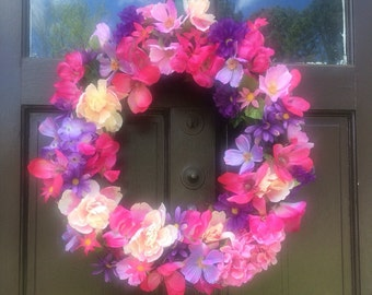 Clearance on Flower er Packed Wreath