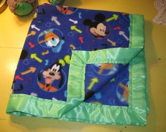 Soft Fleece Disney Print Baby Blanket