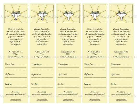 Separadores de libros para regalar en tu confirmaci n spanish for Libros para regalar
