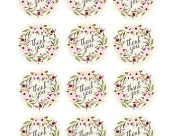 "Custom Tag Printable. 2"" Round Tags."