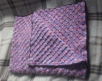 Crochet Corner to Corner Baby Blanket