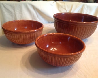 """Vintage Red Wing  """"Gypsy Trail Reed Pattern""""  Set of 2"""