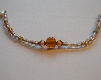 Golden Amber Bracelet
