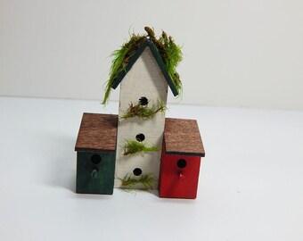 Miniature Bird Condo Unit