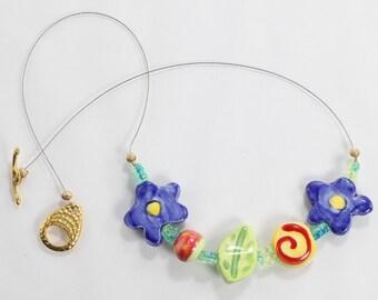 Ceramic Floating Necklace
