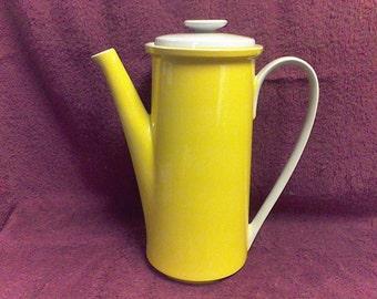 Mikasa Sunshine Yellow Coffee Carafe Epiqure-One Vintage